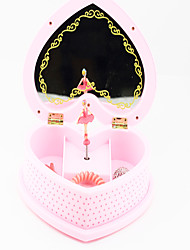 Music Box Heart-Shaped Novelty & Gag Toys Plastic Kid's Girls´