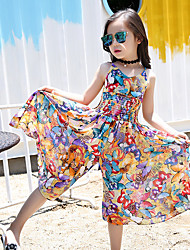 Girl's Beach Rainbow Dress