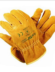 Star Gloves L Full Leather Working Gloves Industrial Protective Gloves.
