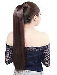 neitsi 1pcs 115g envuelven alrededor de cola de caballo extensiones de cabello striaght sintético postizos m2 / 33 #