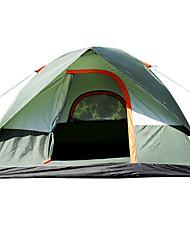 3-4 человека Световой тент Один экземляр Семейные палатки Однокомнатная Палатка 1000-1500 мм СтекловолокноВодонепроницаемый