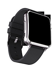 YYX7 Smartwatch Curved Display With Bluetooth 4.0 Camera Stand Sim Card TF Facebook Twitter Smart Alarm Clock For Android/IOS