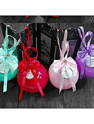 10 Шт./набор Фавор держатель-Шарообразные Пластик Горшки и банки для конфет Подарочные коробки Без персонализации