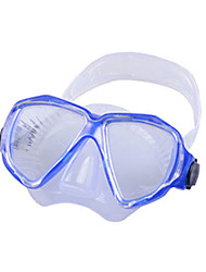 Diving Masks Protective Diving / Snorkeling Fibre Glass silicone