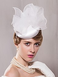 Satén Organza Celada-Boda Ocasión especial Casual Oficina Sombreros 1 Pieza