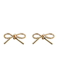 Women's Girls' Stud Earrings Jewelry Unique Design Tag Geometric Statement Jewelry Classic Fashion Personalized Hypoallergenic Euramerican