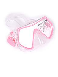Masques de plongée Protectif Plongée & Masque et tuba Matériaux Mixes Eco PC Bleu Noir Rose