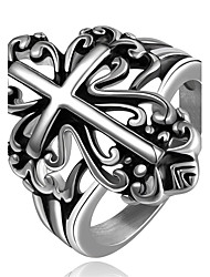 Men's Ring Jewelry Basic Unique Design Geometric Friendship Cute Style Euramerican Turkish Gothic Simple Style Costume Jewelry Crossover