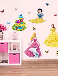 Snow White Cartoon Butterfly Wall Stickers Kindergarten Children's Wall Stickers