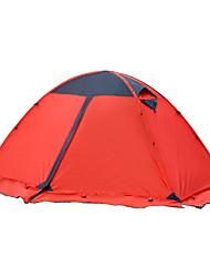 2 persone Tenda Doppio Tenda automatica Una camera Tenda da campeggio 2000-3000 mm Poliestere Oxford Antiumidità Ompermeabile-Campeggio