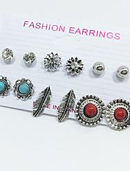 Women's Rhinestone Basic Multi-ways Wear Costume Jewelry Alloy Leaf Ball Jewelry For Wedding Party Special Occasion Anniversary Birthday
