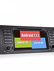 Bonroad android 7.1.1 quad core 1024 600 auto video dvd player für e39 e53 radio rds gps navigation bluetooth schirm wifi