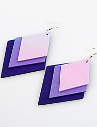 Women's Earrings Set Jewelry Simple Style Adorable Cute Style Wood Jewelry For Wedding Party Birthday Gift