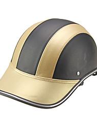 Casque de baseball Casque de sécurité casque de sécurité anti-uv or noir