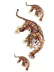 Tattoo Stickers Animal Series Pattern Lower Back WaterproofWomen Men Teen Flash Tattoo Temporary Tattoos