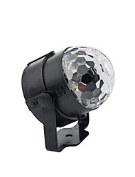 Luci LED da palcoscenico Magic Ball LED Light Party DJ Disco Club Mostra Lumiere LED Crystal Light Proiettore laser 3W - - -