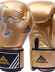 Boxing Gloves for Boxing Full-finger Gloves Protective Nylon Leather Red Silver Black Gold