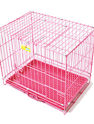Cat Dog Tent Pet Baskets Solid Foldable Black Blushing Pink