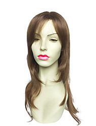 Capless Long Wavy Synthetic Fiber Kanekalon With Side Part Costume Cosplay Wig
