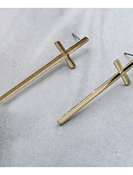 Women In Europe And The Contracted Temperament Of Restoring Ancient Ways Is Small Adorn Article Cross Earrings Stud Earrings
