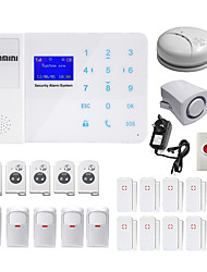 Danmini touch key gsm sans fil accueil automatique téléphone sms système d'alarme contrôle de téléphone mobile