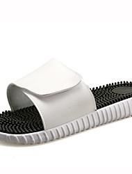 Feminino-Chinelos e flip-flops-Chanel-Rasteiro--Couro Ecológico-Casual