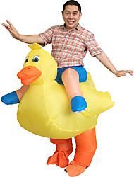 Costumes de Cosplay Costume de Soirée Gonflable Imperméable Animal Cosplay de Film Collant/Combinaison VentilateurHalloween Carnaval Le