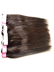 Cheap 7A Brazilian Virgin Hair Silk Straight 400Grams 8Bundles Lot Unprocessed Indian Human Hair Extensions Weaves Natural Black Color Smooth Texture