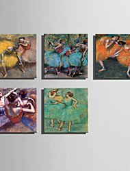 The Logicians Oil Painting Engraved Canvas Print Wall Art Edgar Degas  Multi Style Selection