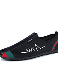 -Для мужчин-Для прогулок Повседневный Для занятий спортом-Ткань-На плоской подошве-Удобная обувь-Мокасины и Свитер