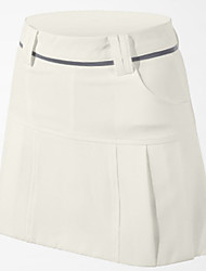 Mulheres Sem Mangas Golfe Saias e Vestidos Respirável Secagem Rápida Confortável Branco Azul Escuro Golfe