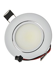 3W LED Downlights Recessed light COB 250 lm Warm White Cool White Natural White Dimmable Decorative AC 220-240/AC 110-130 V 1pcs