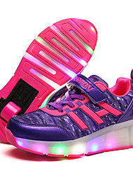 Mädchen-Sportschuhe-Outddor Lässig Sportlich-PU-Niedriger Absatz-Leuchtende LED-Schuhe Luminous Schuh-