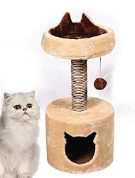 Brinquedo Para Gato Brinquedos para Animais Interativo Durável Madeira