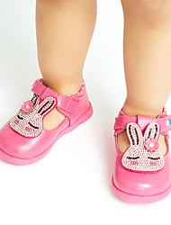 Bébé Fille Ballerines Confort Similicuir Printemps Automne Décontracté Soirée & Evénement Habillé ConfortStrass Applique La boucle du