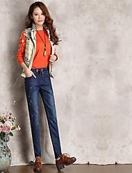 Women's High Waist strenchy Harem Pants,Simple Harem Solid