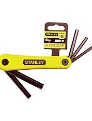 Stanley italiano pieghevole interni sei chiave angolare 3/16 -3/8 set di 5 pezzi / 1 set