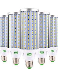 60W E26/E27 Lâmpadas Espiga 160 SMD 5730 5850-5950 lm Branco Quente Branco Frio Decorativa AC 85-265 V 5 pçs