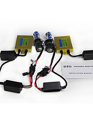 AC 55W HID Xenon Conversion Kit With A100 CANBUS ballast - H4H/L H13 9004  9007 - 6000K - 2 Bulbs & 2 Ballasts