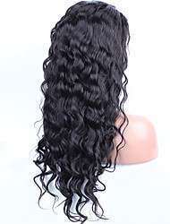 Lace Front Human Hair Wigs Pre Plucked Hairline With Baby Hair Water Wave Malaysian Remy Hair Wigs For Black Women