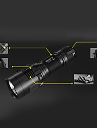 Nitecore MH20 LED Flashlights/Torch LED 1000 Lumens 8 Mode Cree XM-L2 Impact Resistant Nonslip grip Rechargeable Waterproof Dimmable Easy