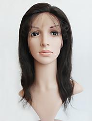 Cabelo humano peruca de renda cheia cabelo natural cabelo humano peruca de renda cheia com cabelo de bebê