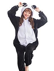 Kigurumi Pijamas Panda Collant/Pijama Macacão Festival/Celebração Pijamas Animais Dia das Bruxas Patchwork Kigurumi Para UnisexoDia Das