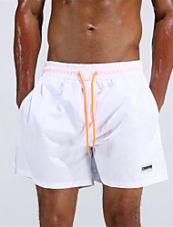 Pánské Kalhotky Jednobarevné Polyester,Na ramínkách Jednolitý