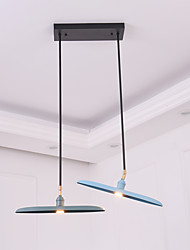 Pendant Light   Modern/Contemporary Painting Feature for LED Mini Style Designers MetalLiving Room Bedroom Dining Room Kitchen Study  A chandelier N