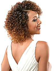 Popular In USA jerry curl Crochet braids synthetic Ombre Hair Weaves Brazilian Texture Curly hair braids