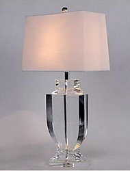 40 Modern/Comtemporary Table Lamp , Feature for Crystal , with Chrome Use On/Off Switch Switch