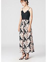 Damen Lässig/Alltäglich Knielänge Röcke Lässig Blumen Sommer