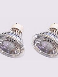 5W Faretti LED 1 COB 420 lm Bianco caldo Bianco V 2 pezzi