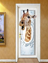 Leisure Wall Stickers 3D Wall Stickers Decorative Wall StickersVinyl Material Home Decoration Wall Decal